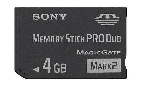 Sony Memory Stick Pro Duo Mark2 4GB