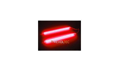 Revoltec Cold Cathode Twin Set Red 2x 10cm