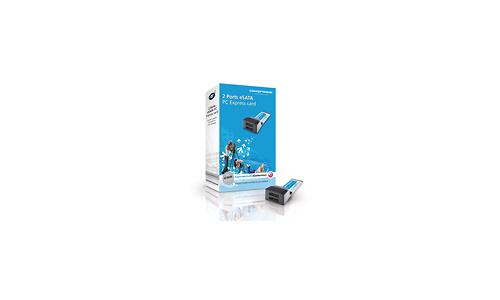 Conceptronic 2 Ports eSATA PC ExpressCard