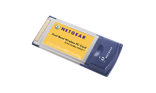 Netgear Dual Band Wireless PC Card