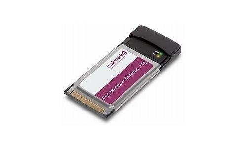 Funkwerk Bintec FEC W-Clients CardBus .11g