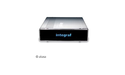 Akasa Integral P2 LAN Network Drive Enclosure NDAS Silver