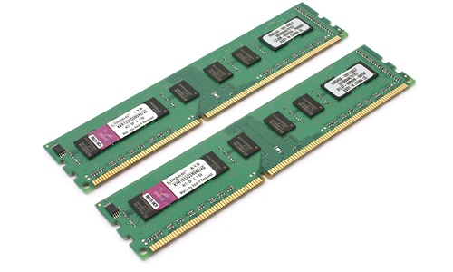 Kingston ValueRam 4GB DDR3-1333 CL9 kit
