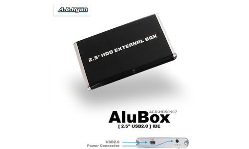 """AC Ryan AluBox 2.5"""" USB2 Black"""