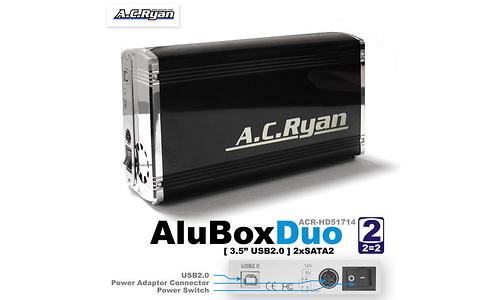 AC Ryan AluBoxDuo USB2 Black