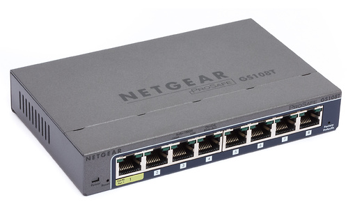 Netgear ProSafe 8-port Gigabit Ethernet Smart Switch (GS108T)
