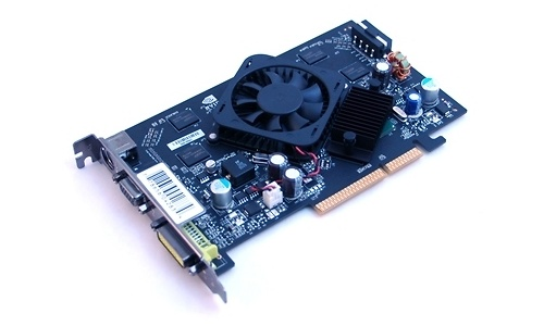 XFX GeForce 7600 GS 512MB DDR2 AGP