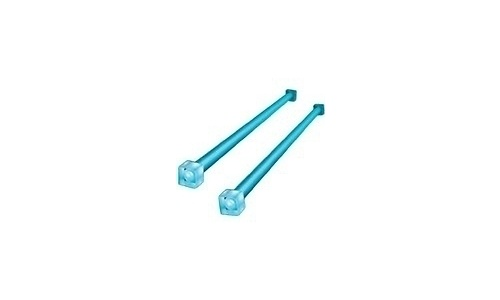 Akasa Cold Cathode Neon Light 30cm Blue Dual Pack