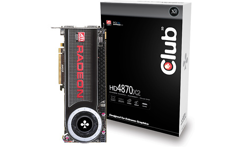 Club 3D Radeon HD 4870 X2 2GB