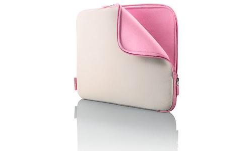 "Belkin Neoprene Sleeve for Notebooks up to 14"" Dove/Peony"
