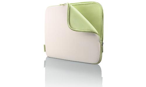 "Belkin Neoprene Sleeve for Notebooks up to 14"" Dove/Tarragon"
