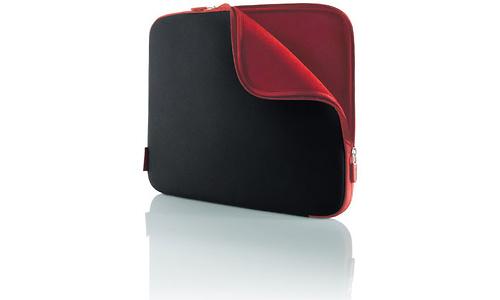 "Belkin Neoprene Sleeve for Notebooks up to 15.4"" Jet/Cabernet"