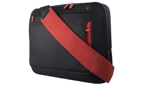 """Belkin Messenger Bag for Notebooks up to 15.4"""" Jet/Cabernet"""