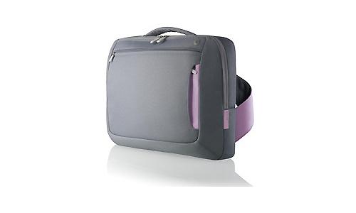 """Belkin Messenger Bag for Notebooks up to 15.4"""" Monument/Lavander"""