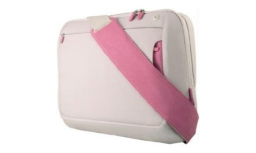 """Belkin Messenger Bag for Notebooks up to 15.4"""" Dove/Peony"""