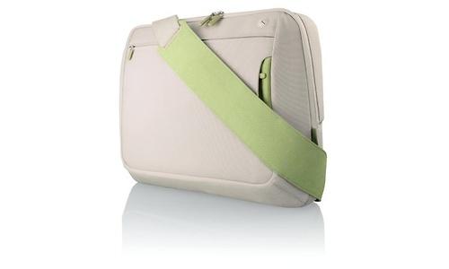 "Belkin Messenger Bag for Notebooks up to 15.4"" Dove/Tarragon"