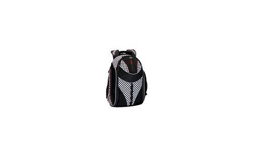 """Mobile Edge Express Trackpack 15.4"""" Black/Checkers"""