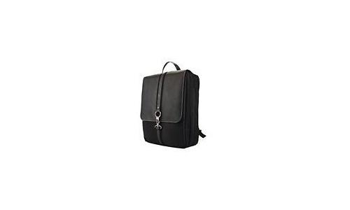 """Mobile Edge Paris Microfiber Backpack 15.4"""" Black"""