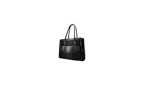 """Mobile Edge Geneva Computer Handbag 17"""" Black"""