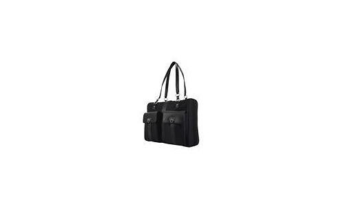 "Mobile Edge London Tote Computer Handbag 15.4"" Black"