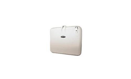 """Mobile Edge Small Faux-Croc Portfolio 14.1"""" White"""