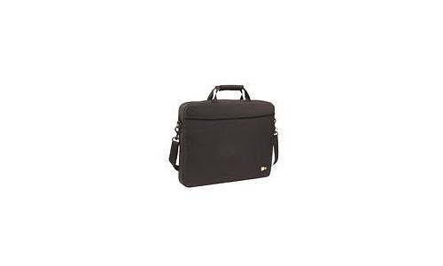 """Case Logic Laptop Attache Case 13.3"""" Black"""
