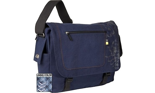 """Case Logic Messenger Bag 15.4"""" Blue"""