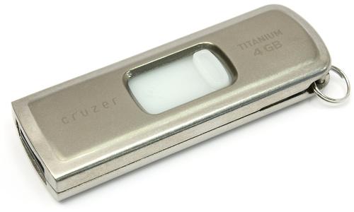 Sandisk Cruzer Titanium U3 4GB