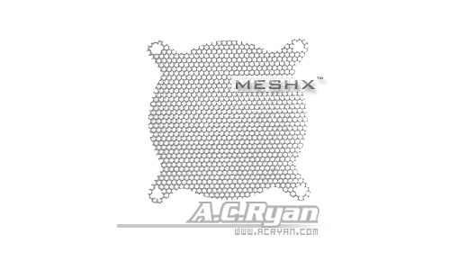 AC Ryan MeshX 80mm Silver
