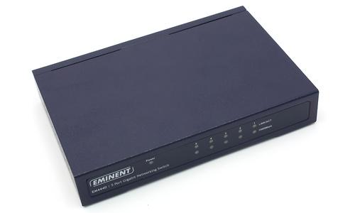 Eminent 5-port Gigabit Networking Switch