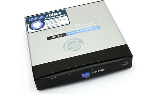 Linksys 5-port 10/100/1000 Gigabit Smart Switch