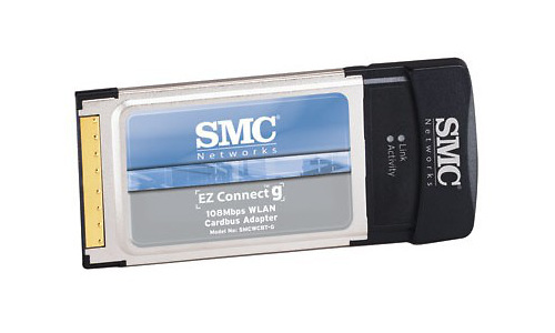 SMC EZ Connect g 108Mbps Wireless Cardbus Adapter