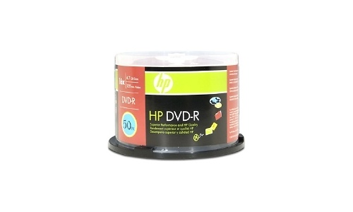 HP DVD-R 16x 50pk Spindle