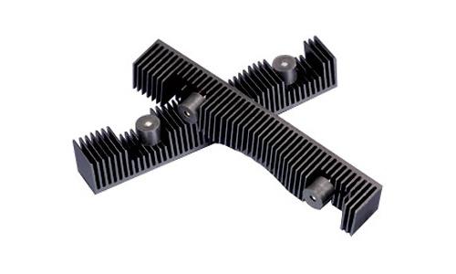 Akasa Passive Black aluminium HDDcooling kit