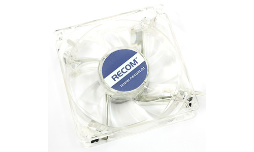 Recom QuadLED Silent Blower 80mm Blue LED