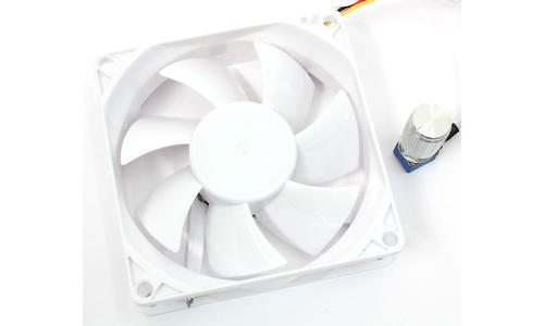 Scythe Kaze-White LED With VR 80mm