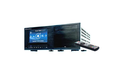 SilverStone Crown CW03 Black Touchscreen