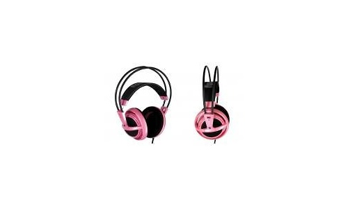 SteelSeries Siberia Lady Full-Size Headset Pink