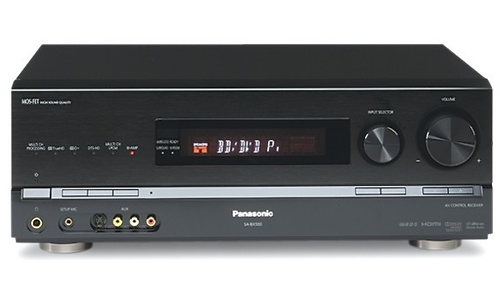 Panasonic SA-BX500 Black