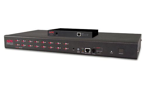 APC 16-Port Multiplatform Analog KVM