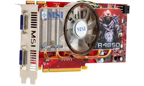 MSI R4850-2D512-OC