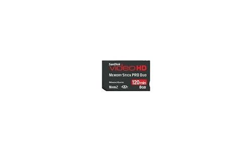 Sandisk Memory Stick Pro Duo Video HD 8GB