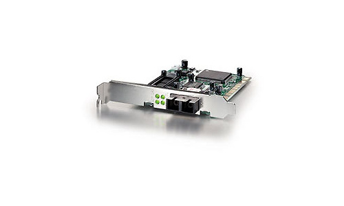 LevelOne Fast Ethernet 100Mbps Adapter With Fiber-Port (SC)