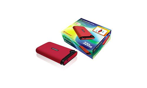 """Transcend StoreJet 2.5"""" Mobile 320GB Red"""