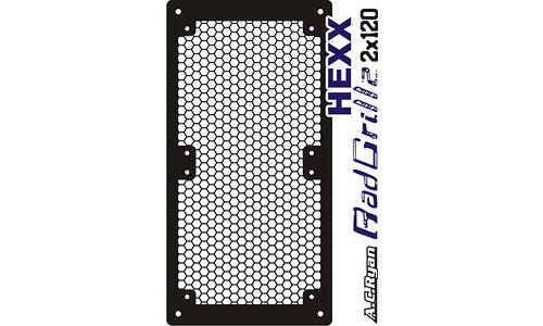 AC Ryan RadGrillz HEXX 2x120 Aluminium