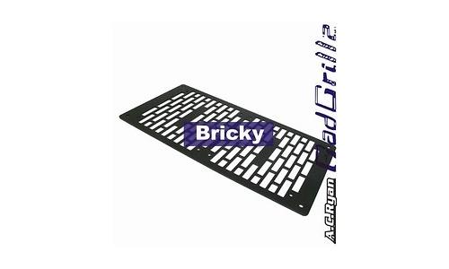 AC Ryan RadGrillz Bricky 2x120 Aluminium