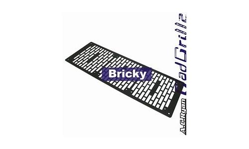 AC Ryan RadGrillz Bricky 3x120 Aluminium