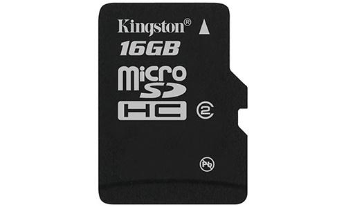 Kingston MicroSDHC Class 2 16GB