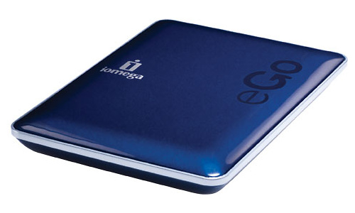 Iomega eGo DropGuard 320GB Blue