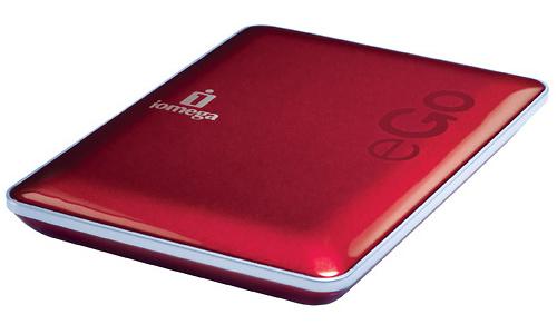 Iomega eGo DropGuard 500GB Red